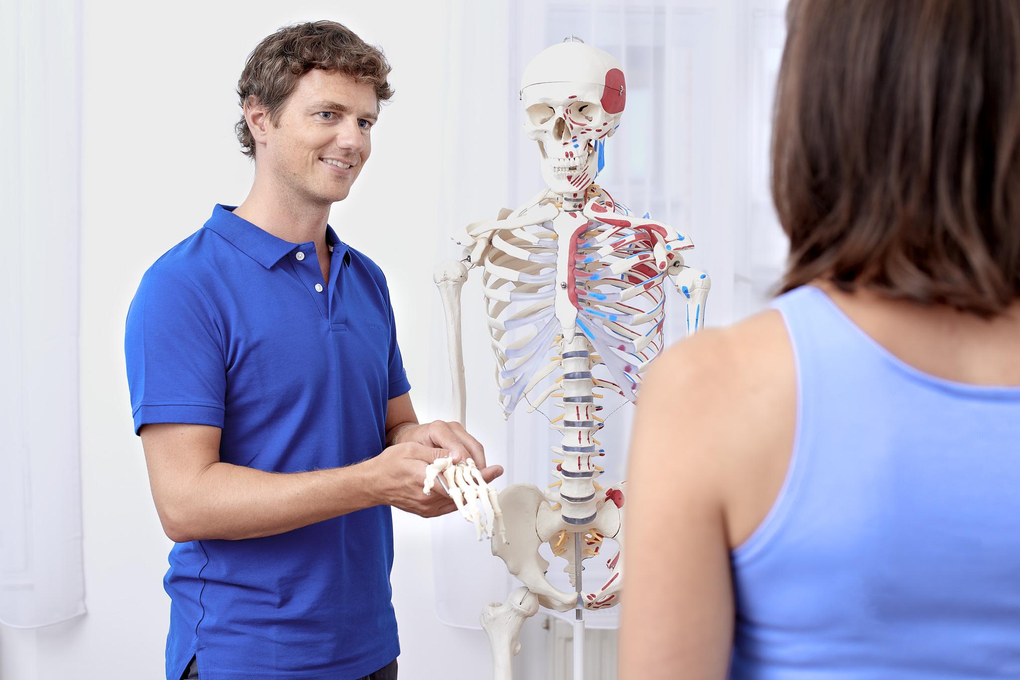 Patienteninformation Physiotherapie Connert Innsbruck